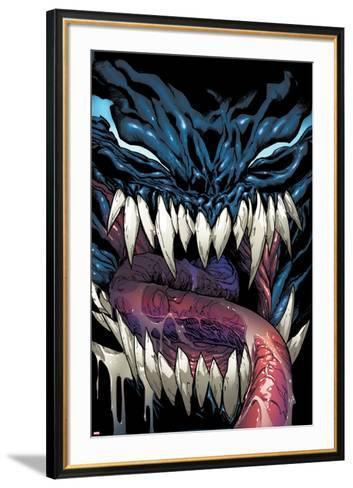 Superior Spider-Man #24 Cover: Venom-Humberto Ramos-Framed Art Print