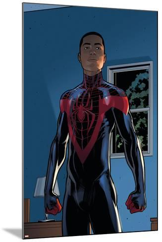 Ultimate Comics Spider-Man #28 Featuring Spider-Man, Miles Morales-David Marquez-Mounted Art Print