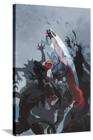 Thor: God of Thunder #3 Cover: Thor-Esad Ribic-Stretched Canvas Print