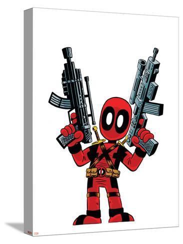 Deadpool--Stretched Canvas Print