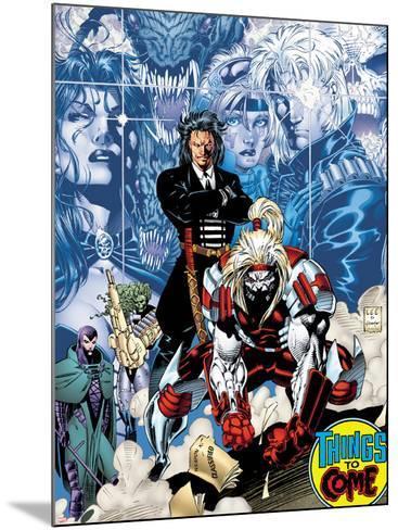 X-Men No.1: 20th Anniversary Edition: Omega Red-Jim Lee-Mounted Art Print