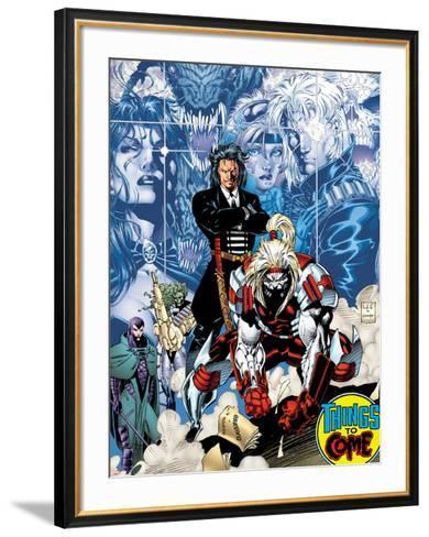 X-Men No.1: 20th Anniversary Edition: Omega Red-Jim Lee-Framed Art Print