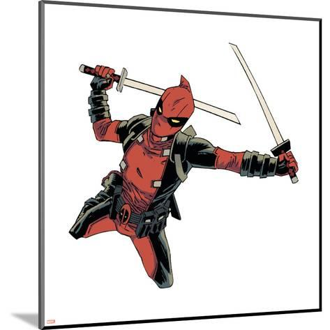 Deadpool--Mounted Art Print