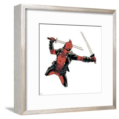 Deadpool--Framed Art Print