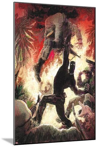 Black Panther No. 3 Cover Art-Kyle Baker-Mounted Art Print