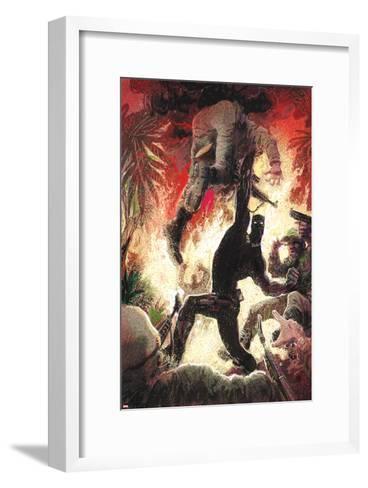 Black Panther No. 3 Cover Art-Kyle Baker-Framed Art Print