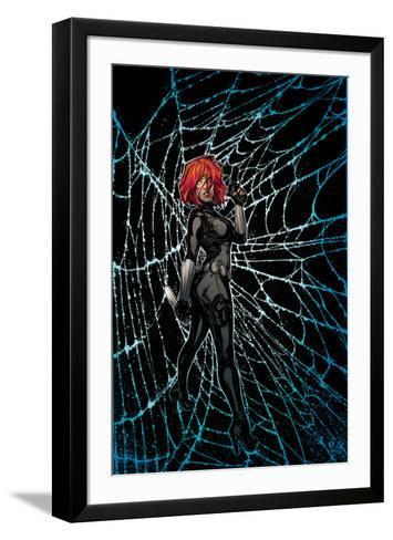 Black Widow No. 3 Cover Art-Joelle Jones-Framed Art Print