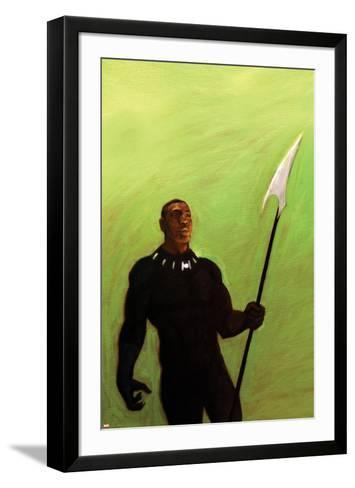 The Punisher No. 4 Cover Art Featuring: Black Panther, Tchalla-Chip Zdarsky-Framed Art Print