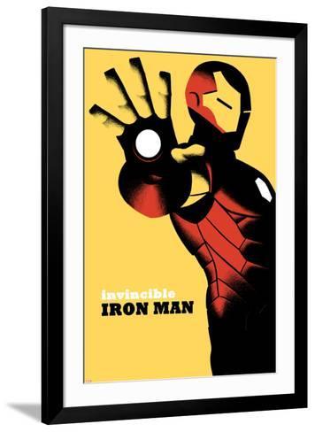 Invincible Iron Man No.6 Cover--Framed Art Print