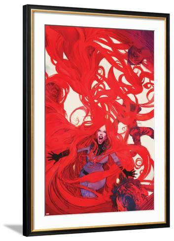 Uncanny Inhumans No. 6 Cover Featuring Medusa-Bill Sienkiewicz-Framed Art Print