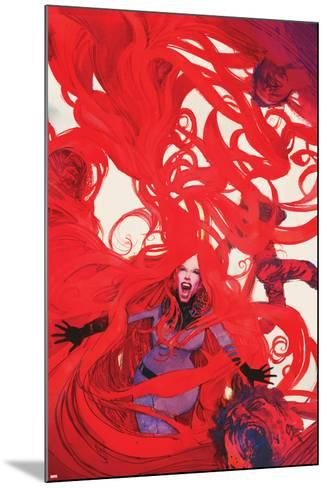 Uncanny Inhumans No. 6 Cover Featuring Medusa-Bill Sienkiewicz-Mounted Art Print