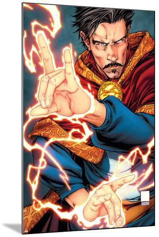 Cover Art Featuring Dr. Strange--Mounted Art Print