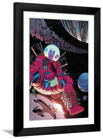 Deadpool Cover Art--Framed Art Print