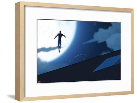Ultimate Spider-Man Animation Still--Framed Art Print