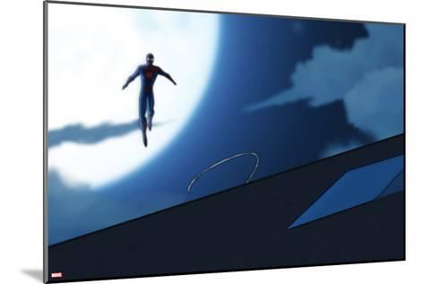 Ultimate Spider-Man Animation Still--Mounted Art Print