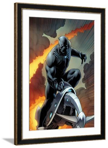 Black Panther No. 1 Cover Art-Dale Keown-Framed Art Print