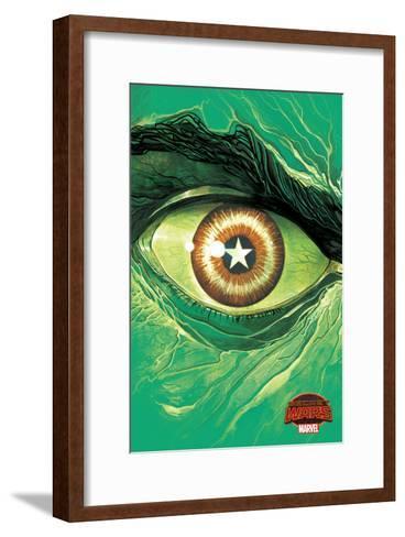 Marvel Secret Wars Cover, Featuring: Hulk--Framed Art Print