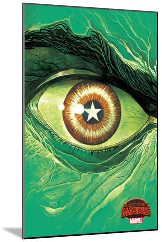 Marvel Secret Wars Cover, Featuring: Hulk--Mounted Art Print