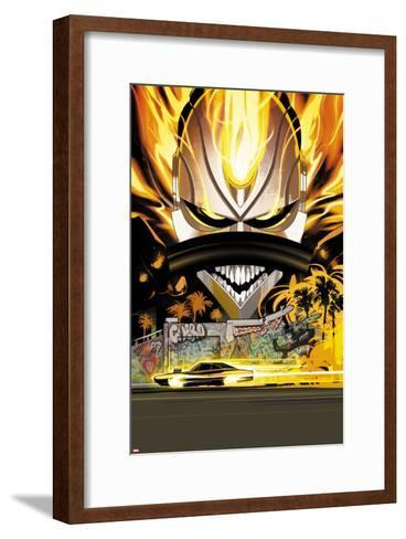 All-New Ghost Rider No. 11 Cover-Fiona Staples-Framed Art Print