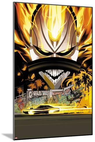 All-New Ghost Rider No. 11 Cover-Fiona Staples-Mounted Art Print