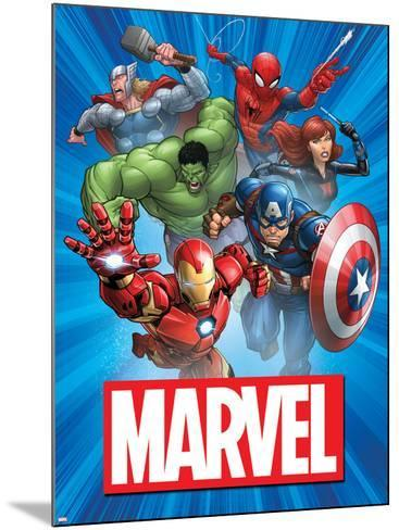 Marvel Group Image--Mounted Art Print