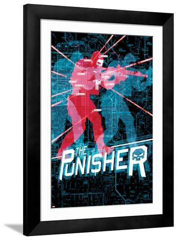 The Punisher No. 18 Cover-Mitch Gerads-Framed Art Print