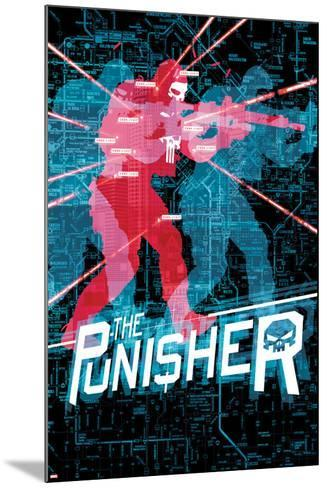 The Punisher No. 18 Cover-Mitch Gerads-Mounted Art Print