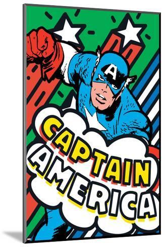 Marvel Comics - New Retro--Mounted Art Print