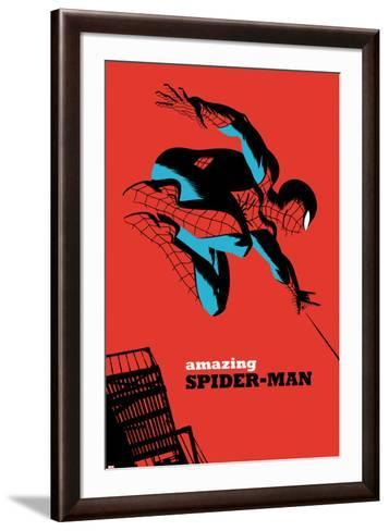 The Amazing Spider-Man No.7 Cover-Michael Cho-Framed Art Print