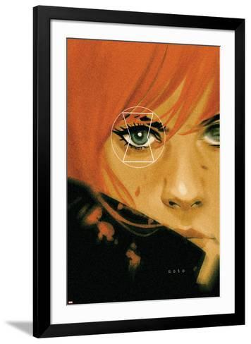 Black Widow No. 18 Cover-Phil Noto-Framed Art Print