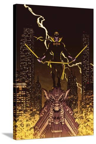 Iron Fist: The Living Weapon No. 12 Cover-Kaare Andrews-Stretched Canvas Print