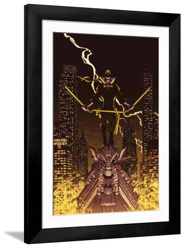 Iron Fist: The Living Weapon No. 12 Cover-Kaare Andrews-Framed Art Print