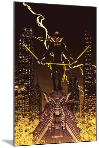 Iron Fist: The Living Weapon No. 12 Cover-Kaare Andrews-Mounted Art Print