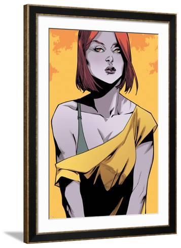 Ultimate Comics X-Men #24 Featuring Jean Grey-Mahmud A^ Asrar-Framed Art Print