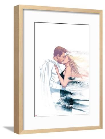 Moon Knight No. 4 Cover Art Featuring: Moon Knight, Marc Spector, Marlene Alraune-Greg Smallwood-Framed Art Print