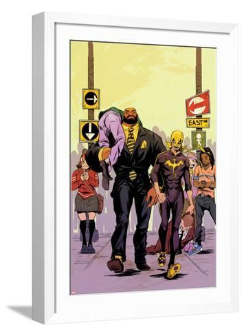 Power Man and Iron Fist No. 2 Cover Featuring Power Man, Iron Fist-Sanford Greene-Framed Art Print