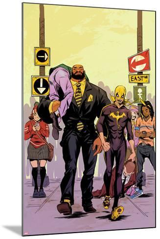 Power Man and Iron Fist No. 2 Cover Featuring Power Man, Iron Fist-Sanford Greene-Mounted Art Print