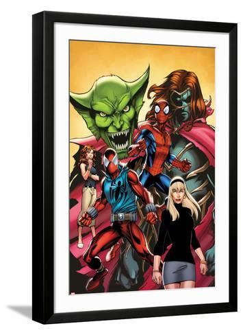 Web Warriors No.2 Cover, Featuring Jackal, Spider-Man, Kaine, Mary Jane Watson and More--Framed Art Print