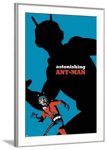 The Astonishing Ant-Man No. 5 Cover-Michael Cho-Framed Art Print