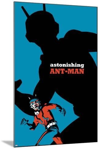 The Astonishing Ant-Man No. 5 Cover-Michael Cho-Mounted Art Print