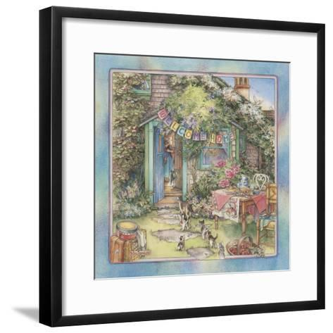 Welcome Home-Kim Jacobs-Framed Art Print