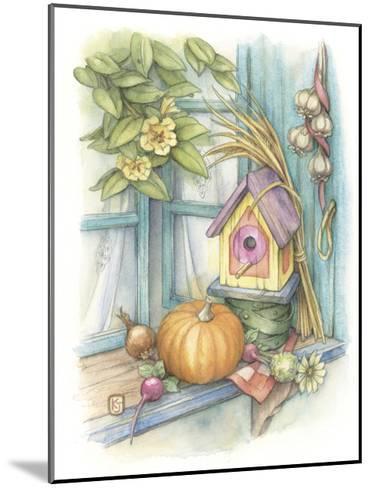 Harvest Birdhouse-Kim Jacobs-Mounted Giclee Print