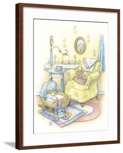 Baby's Chair-Kim Jacobs-Framed Art Print