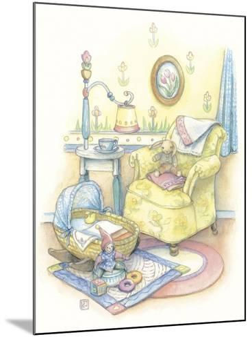 Baby's Chair-Kim Jacobs-Mounted Giclee Print