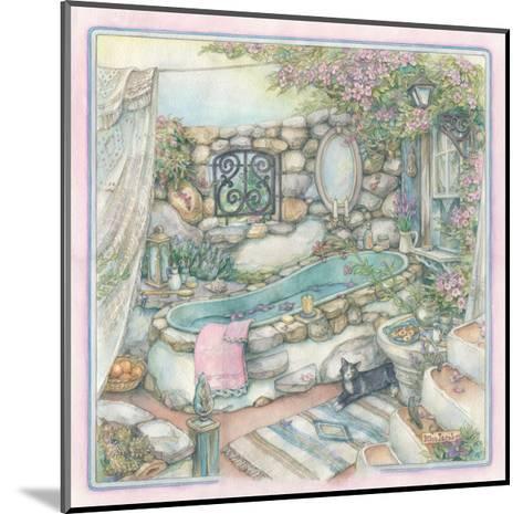 Bathing Cobblestone Way Style-Kim Jacobs-Mounted Giclee Print