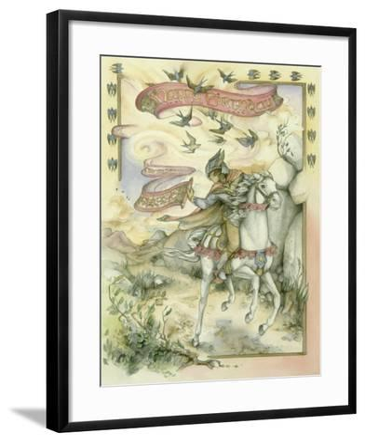 Birthday Messenger-Kim Jacobs-Framed Art Print