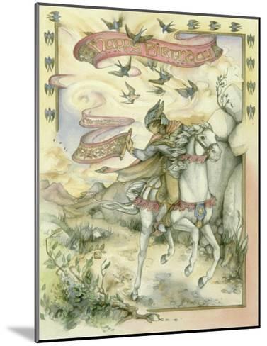 Birthday Messenger-Kim Jacobs-Mounted Giclee Print