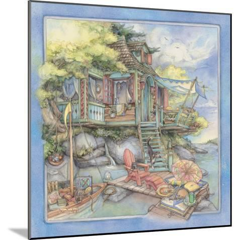 Shore House2-Kim Jacobs-Mounted Giclee Print
