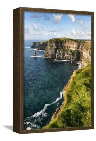 Cliffs of Moher, County Clare, Ireland-Chris Hill-Framed Canvas Print