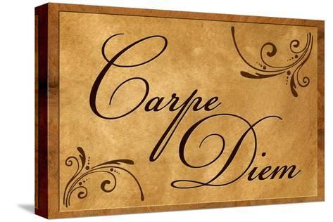 Carpe Diem Seize the Day--Stretched Canvas Print